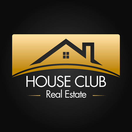 real estate investment: Real Estate, Building and Investment Vector Logo Design Illustration