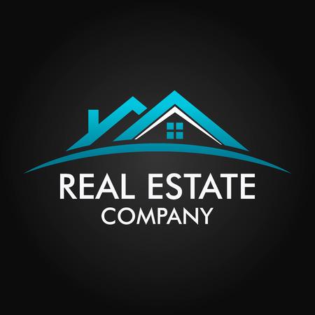 estate: Real Estate, Building and Investment Vector Logo Design Illustration