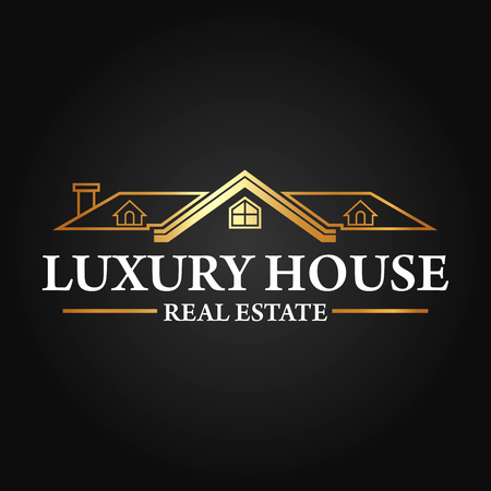 Real Estate, Building and Investment Vector Logo Design