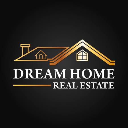 Inmobiliaria, construcción de vectores Logo Design