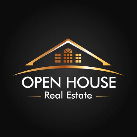 Immobilier, Construction et Vector logo