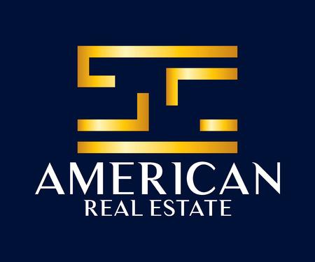 salts: Real Estate, Building, Construction and Architecture Design Logo Vector Eps 10 Illustration