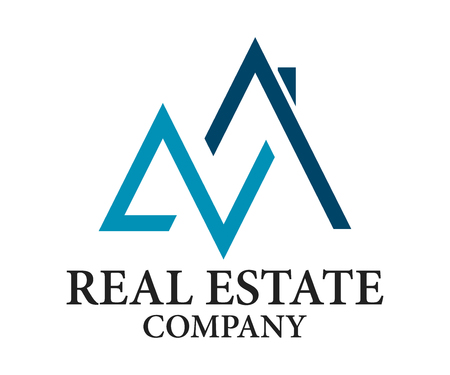 Real Estate, Building, Construction and Architecture Design Logo Vector Eps 10 Illustration