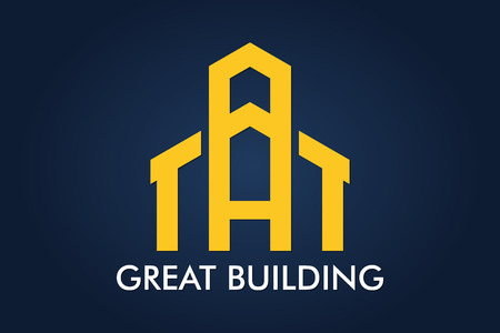 Real Estate, Building, House, Construction and Architecture Logo Vector Design