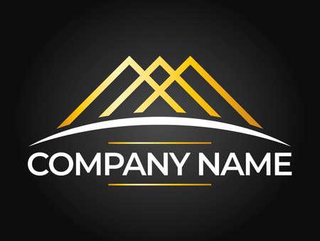 Real Estate, Building and Investment Logo Vector Design Иллюстрация