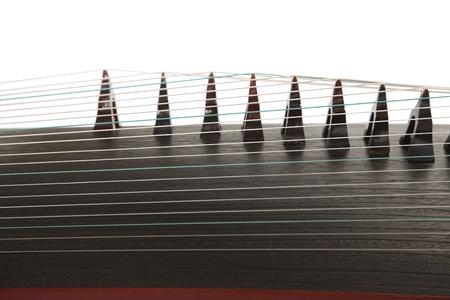 instruments de musique: cithare fermer Banque d'images