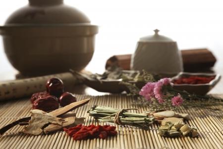 Chinese herbal medicine Stock Photo - 15748229
