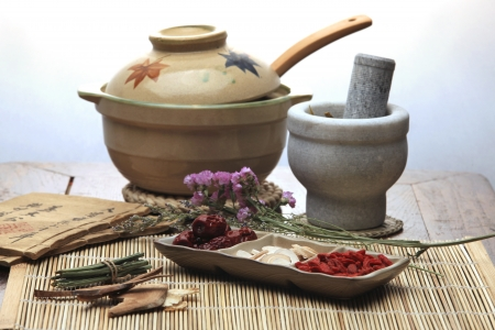 Chinese herbal medicine Stock Photo - 14535009