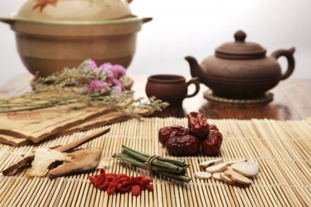 Chinese herbal medicine Stock Photo - 14534957