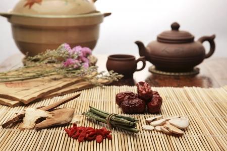 Chinese herbal medicine Stock Photo - 14534957