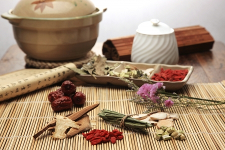 chinese herbal medicine: Chinese herbal medicine Stock Photo