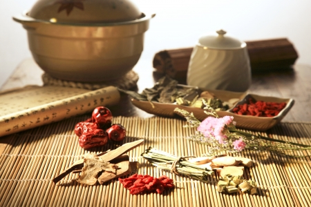Chinese herbal medicine Stock Photo - 14534845