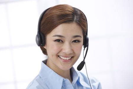 customer service representativ: Businesswoman