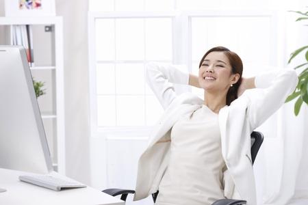 ser humano: Mujer de negocios