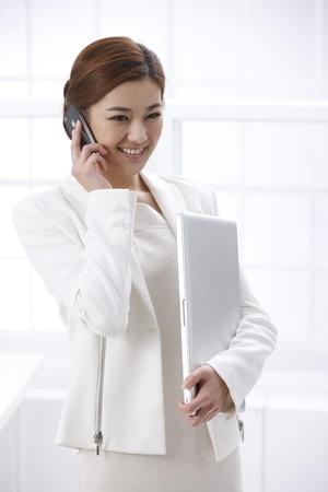 vertical wellness: Businesswoman
