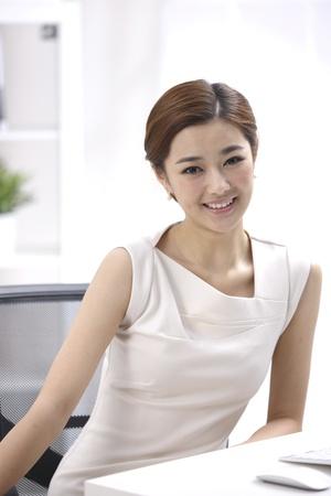 table skirt: Businesswoman
