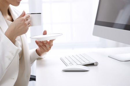 trabajador oficina: Mujer de negocios