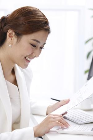 calculator chinese: Business woman