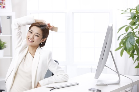 home offices: Businesswoman