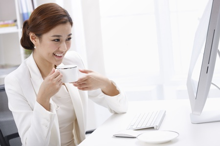 east asian ethnicity: Businesswoman