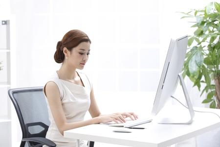 jornada de trabajo: Mujer de negocios