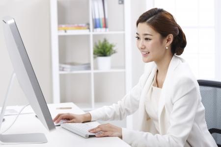 energy work: Businesswoman