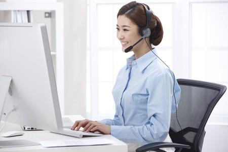 up service: Businesswoman