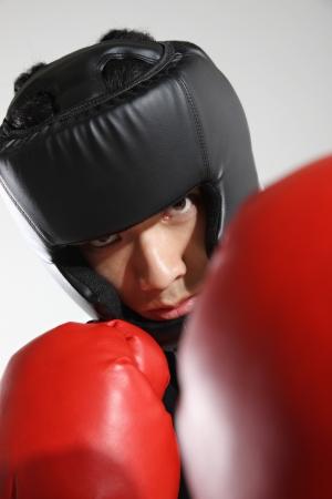 Portrait of male boxer Stock Photo - 16141712