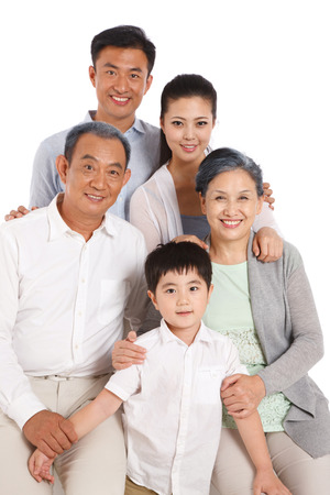 Whole family Stock Photo - 22520471