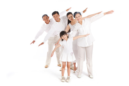 Whole family Stock Photo - 22520545