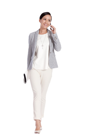 mobilephone: A shot of businesswoman calling by mobilephone