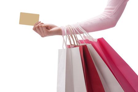 A shot of Woman shopping Stock Photo - 23944536