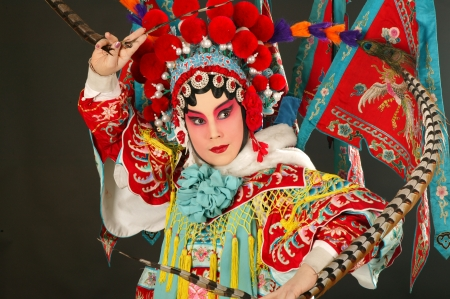 chinese opera: A shot of beijing opera
