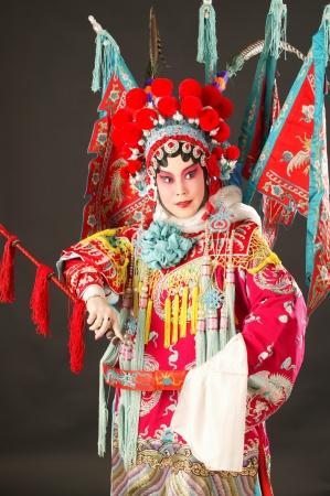 delito: Una foto de la �pera de Pek�n