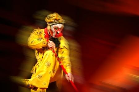hanuman: A shot of beijing opera