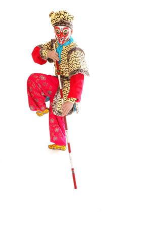 A shot of the god of Monkey,beijing opera photo