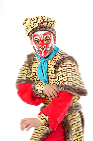 A shot of Character in Chinese opera photo