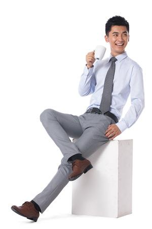 Jonge zakenman