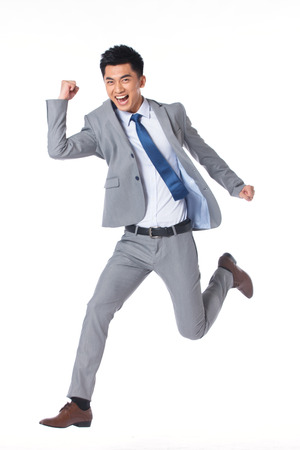 Young businessman photo