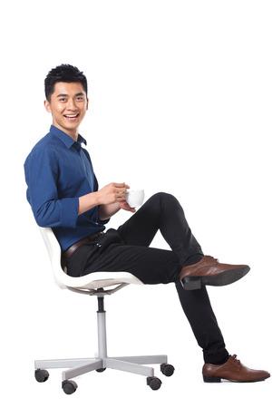 Young businessman protrait Banque d'images