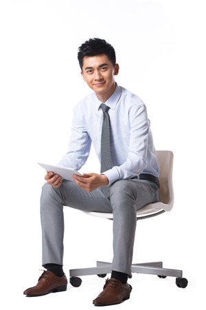 Young businessman protrait photo