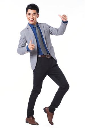 man side: Young businessman protrait Stock Photo