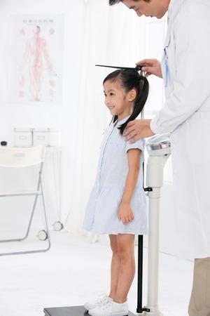 Arzt und Patient Standard-Bild