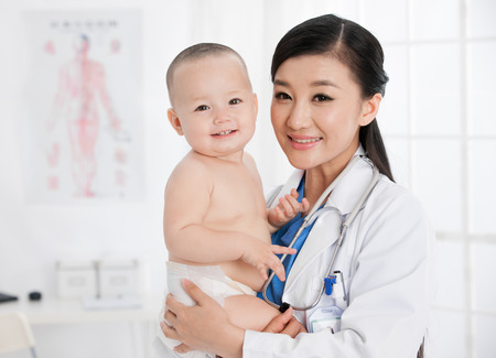 doctor and baby photo