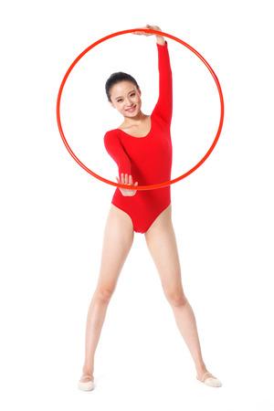 female gymnasts photo
