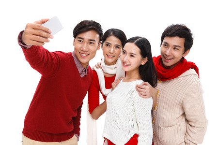 happy young people: Happy young people Stock Photo
