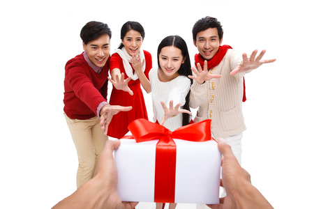 Happy young people photo