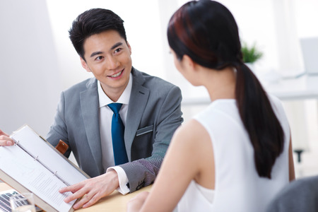 chinese people: Young business people Stock Photo