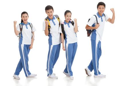 High school students Stock fotó