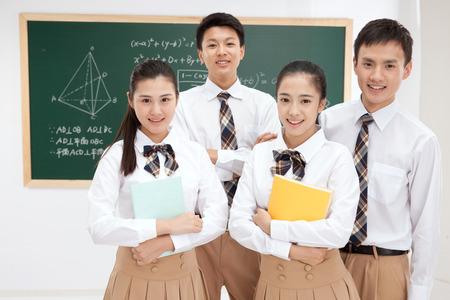 High school students Foto de archivo